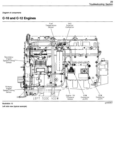 3406e Caterpillar Engine Wiring For by Caterpillar 3406e C 10 C 12 C 15 C 16 C 18 On Highway