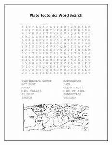 Plate Tectonics Word Search   The Science Shark - My ...