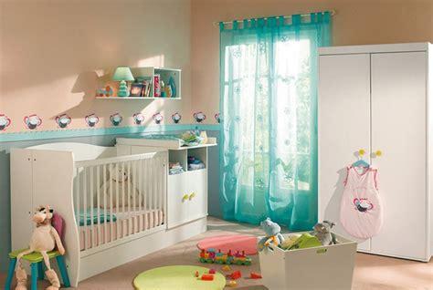deco chambre bebe mixte chambre de bébé en bois blanc conforama photo 1 10