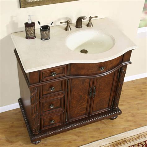 36 quot 0213cm center right sink marble top bathroom