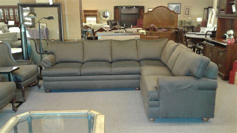 ethan allen sectional sofa used ethan allen sectional sofa delmarva furniture consignment