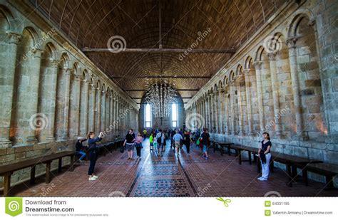 mont michel interieur mont圣米歇尔修道院内部 编辑类图片 图片 64031195