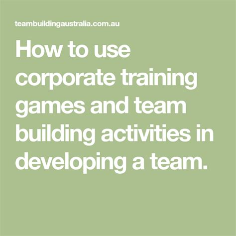 developing  team team building activities  images