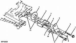 John Deere D100 Brake Parts