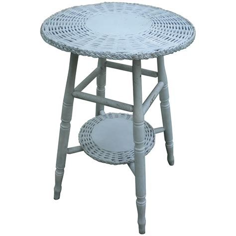 small round pub table vintage small round bar harbor wicker table circa 1920 39 s