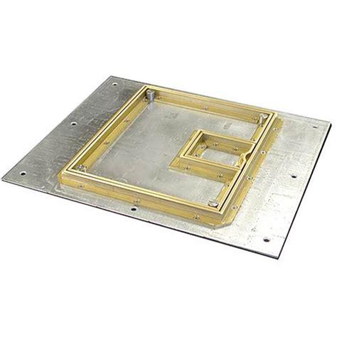 Fsr Floor Boxes Fl 500p by Fsr Fl 500p B C Cover With Beveled 189 Quot Fl 500p B C
