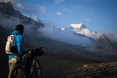 du mont tour du mont blanc bikepacking route bikepacking