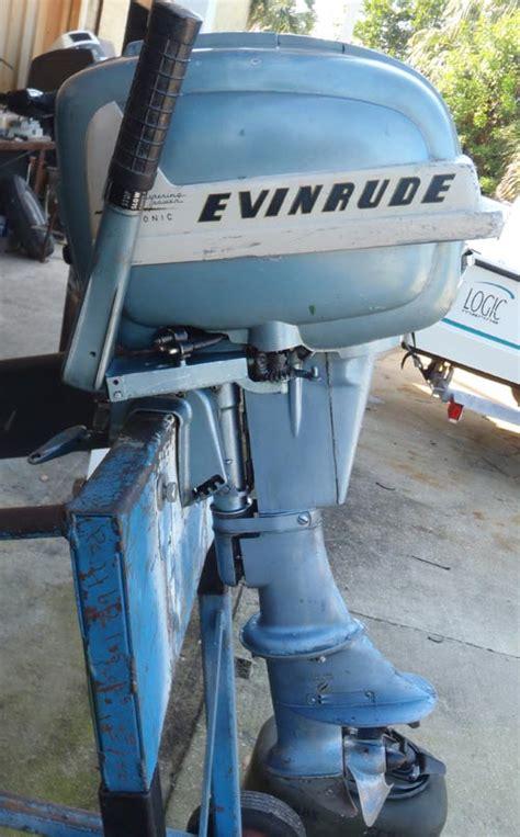 evinrude  hp aquasonic outboard