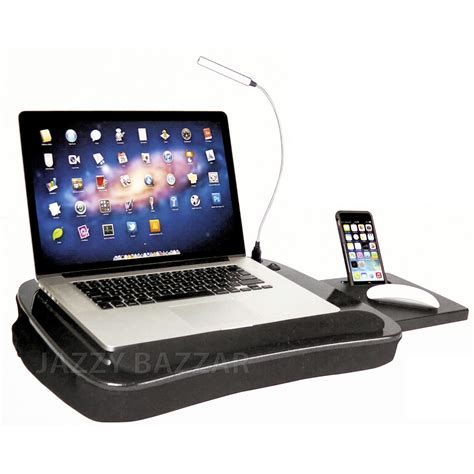 laptop desk portable workstation memory foam lapdesk laptop ergonomic laptop tablet