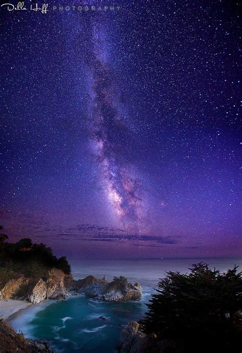 The Infinite Meadows Heaven Milky Way Over Mcway Falls