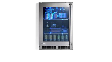 lynx  outdoor refrigerator  glass door