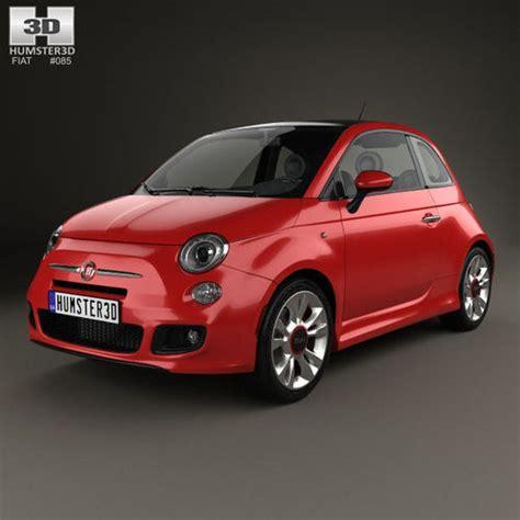 Fiat 2014 Models by Fiat 500 Sport 2014 Sport 3d Model Cgtrader