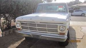 1969 Ford F250 Camper Special Clear Title
