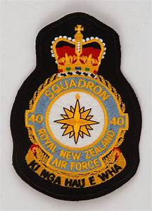 No  40 Squadron Rnzaf Patch