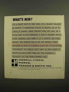 1966 Merrill Lynch Ad - What's New?