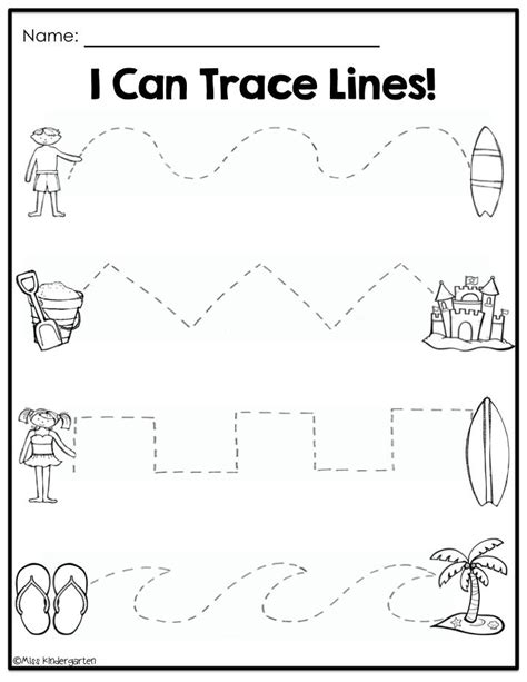 Summer Kindergarten Worksheets Worksheets For All  Download And Share Worksheets  Free On