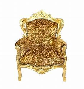 Barock leopard sessel tisch kommode stuhl und stilmobel for Barock sessel leopard