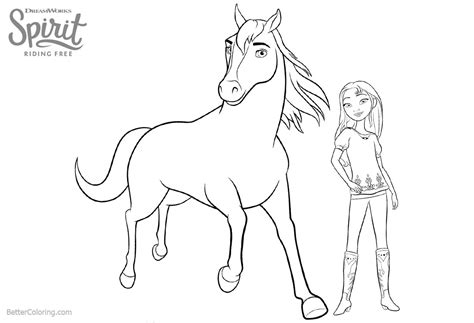 spirit riding  coloring pages  getcoloringscom  printable colorings pages  print