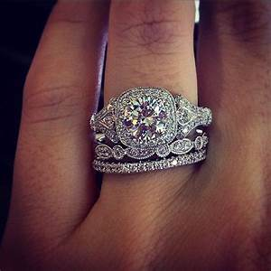 116 best gabriel co engagement rings images on for Halo engagement rings with wedding bands