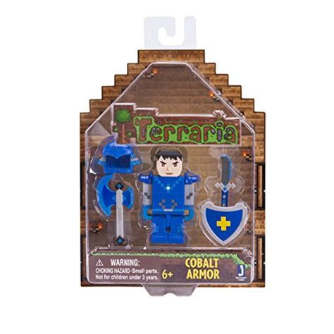 Terraria Cobalt Armor with Accessories Action Figure   Buy