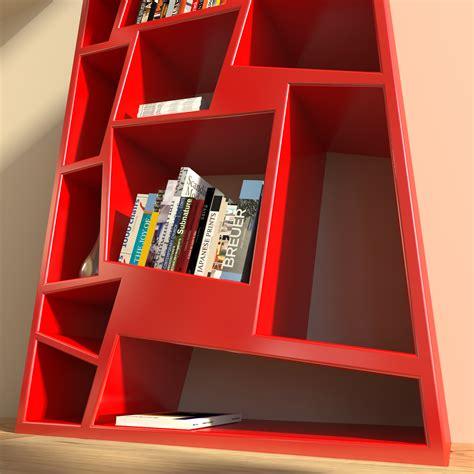 libreria rossa christie zad zone of absolute designlibreria design