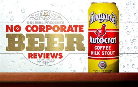 Official state drunk coffee milk of rhode island. No Corporate Beer Reviews: Autocrat Coffee Milk Stout | Decibel Magazine