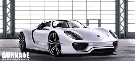 Porsche 918 Spyder Concept Rendering News  Top Speed