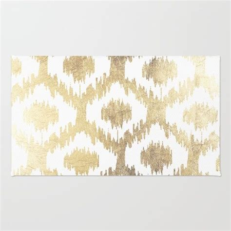 gold and white rug white and gold rug rugs ideas