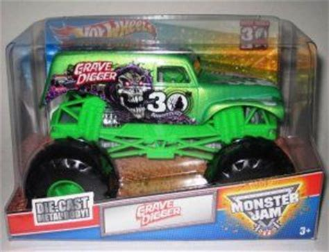 grave digger monster truck 30th anniversary grave digger 30th anniversary 1 24 toy car die cast and