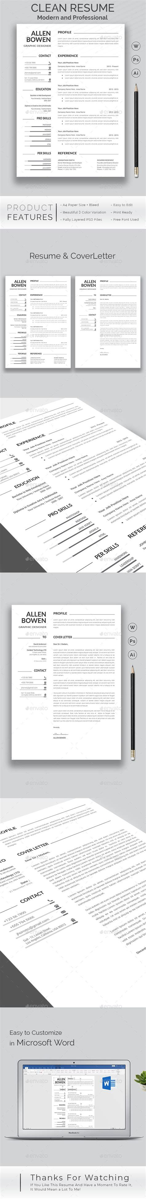 Resume Features by Resume Special Features Of This Resume Template A4