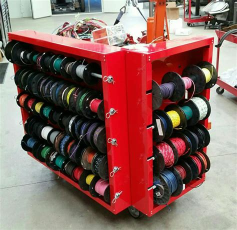 wiring cart shop garage tools garage shop automotive tools