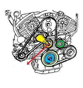 alternator for 2003 hyundai santa fe 2000 hyundai sonata serpentine belt engine mechanical