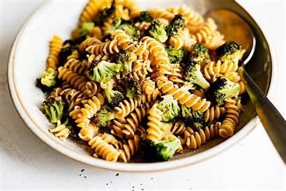 Broccoli Pepper Lemon Rotini Garlic