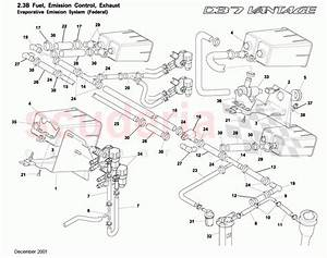 Aston Martin Db7 Vantage Evaporative Emission System