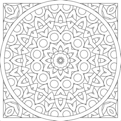 designs to color don t eat the paste a pair of mandalas to color