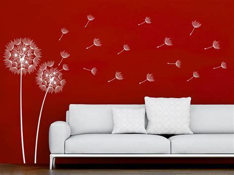 Individuelles Ambiente Dank Wand by Wandtattoo Filigrane Pusteblumen Wandtattoo