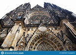 Prague, Czech Republic, May 12, 2018 - St. Vitus Cathedral ...