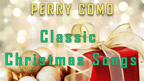 perry como the classic christmas album perry como classic christmas songs youtube