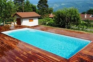 Piscine Enterrée Rectangulaire : piscine coque polyester pas cher made in france ~ Farleysfitness.com Idées de Décoration