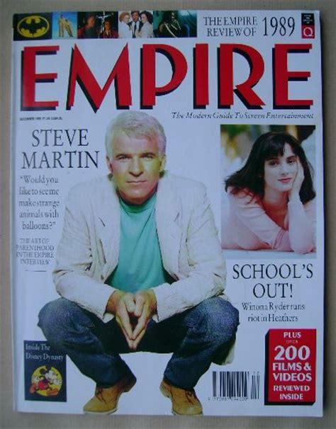 five minutes with martin edition magazine empire magazine steve martin cover december 1989 issue 6