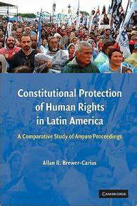 Constitutional Protection of Human Rights in Latin America ...