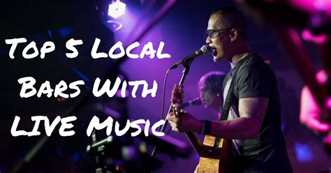 Chances are, you'll hear an emphatic yes. in most cases, tips make up the majority of the money your staff takes home, and those tips can. These Five Local Bars Feature LIVE Bands You Can Sing Along To!