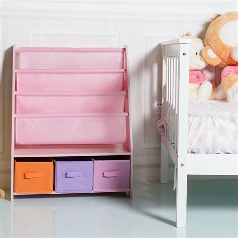 Childrens Bookcase Sling by Sling Bookshelf Bookcase And Toys Organizer Shelves W