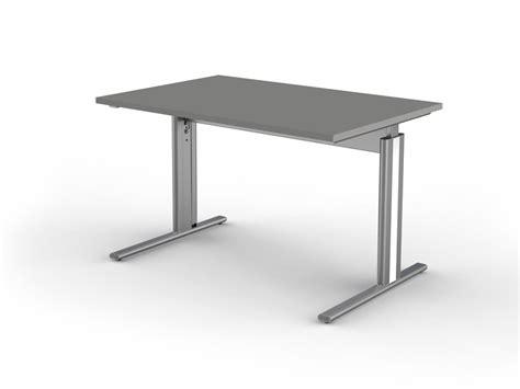 Schreibtisch Cfußgestell Form 4 Tischplatte 120 X 80 Cm
