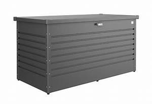 Biohort Freizeitbox 160 : biohort freizeitbox 160 high aufbewahrungsbox 160x79x83cm dunkelgrau metallic kaufen ~ Orissabook.com Haus und Dekorationen