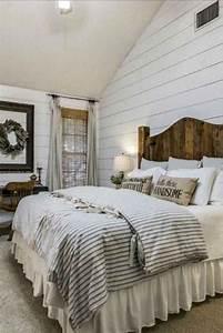 39, Gorgeous, Farmhouse, Master, Bedroom, Ideas