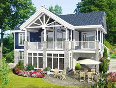 walkout ranch home plans Google Search Sloping lot