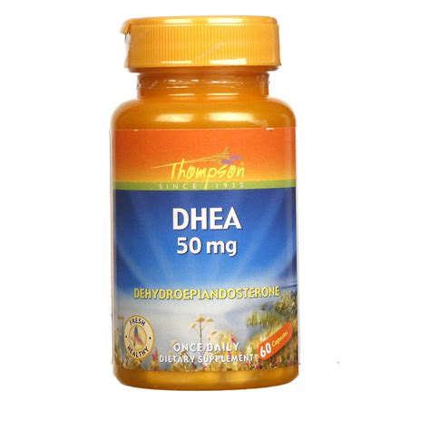 buy thompson dhea 50 mg 60 capsules evitamins australia
