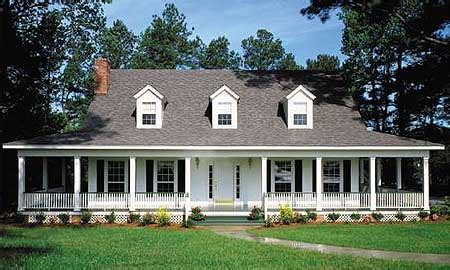 square house plans with wrap around porch country home with wrap around porch 6221v