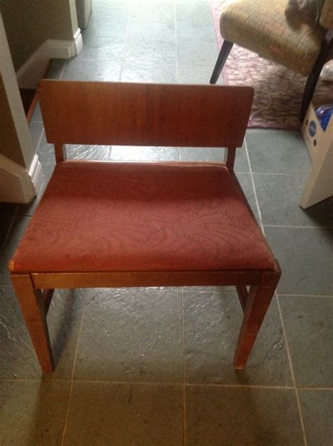 Lenoir Chair Company Cal 4319 by Lenoir Boudoir Chair No 702 Age Guess From History Of